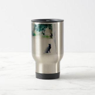 Venezian cat travel mug