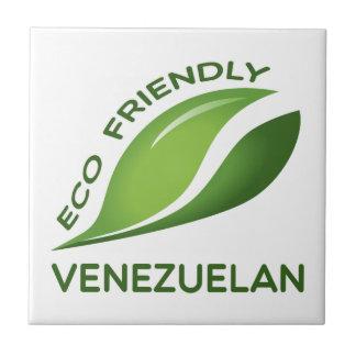 Venezolano amistoso de Eco Azulejo Cuadrado Pequeño