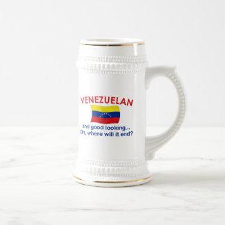 Venezolano apuesto taza