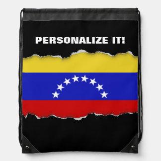 Venezuala Flag Drawstring Bag