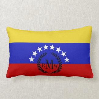 Venezuala Flag Lumbar Pillow