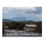 Venezuela, , a caribbean treasure post card