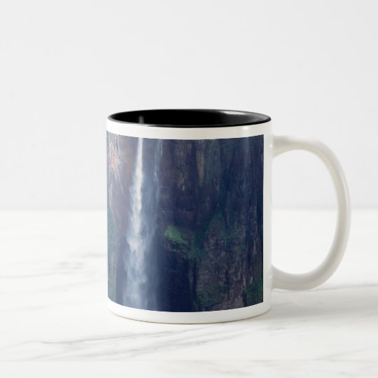 Venezuela, Angel Falls, Canaima National Park Two-Tone Coffee Mug