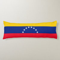 Venezuela Body Pillow