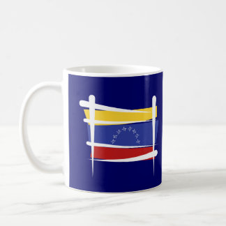 Venezuela Brush Flag Coffee Mug