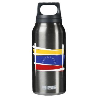 Venezuela Brush Flag Insulated Water Bottle