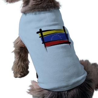 Venezuela Brush Flag Shirt