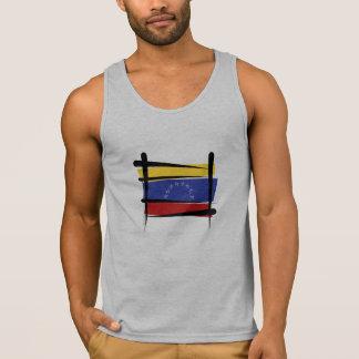 Venezuela Brush Flag Tank Top