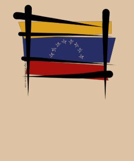 Venezuela Brush Flag Tee Shirt