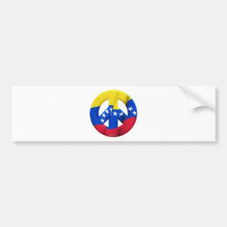 Venezuela Car Bumper Sticker