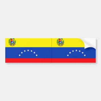 Venezuela Etiqueta De Parachoque