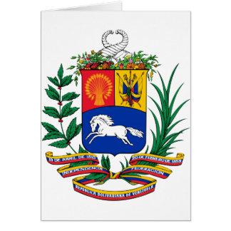 Venezuela Coat of Arms Greeting Cards