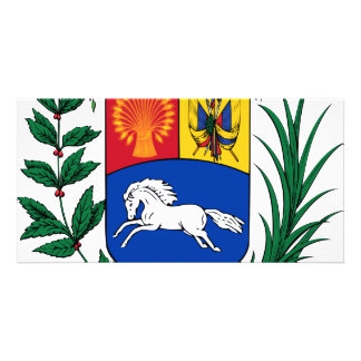 Venezuela coat of arms card