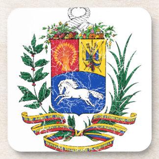 Venezuela Coat Of Arms Drink Coaster