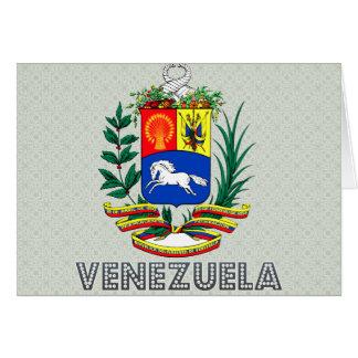 Venezuela Coat of Arms Greeting Card