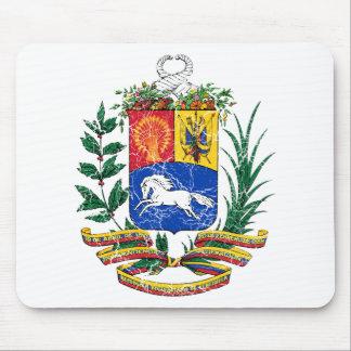 Venezuela Coat Of Arms Mouse Pads