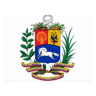 Venezuela Coat of Arms Postcards