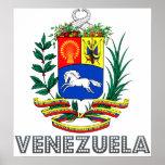 Venezuela Coat of Arms Posters