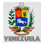 Venezuela Coat of Arms Print
