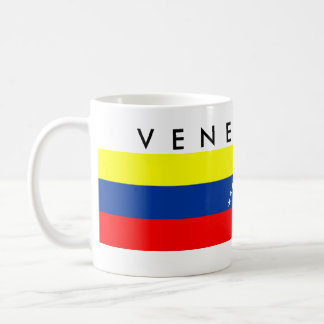 venezuela country flag nation symbol name text coffee mug