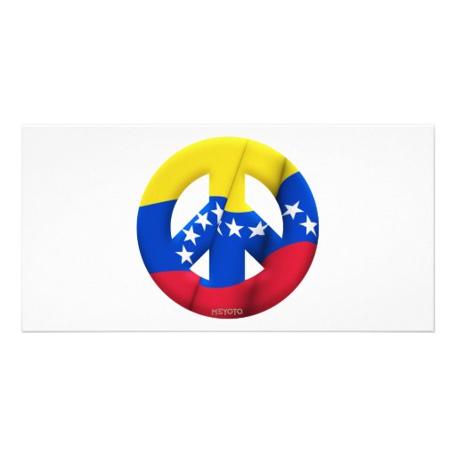 Venezuela Customized Photo Card