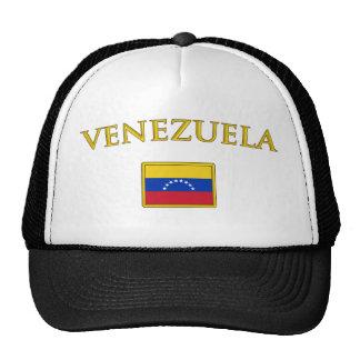 Venezuela de oro gorros bordados