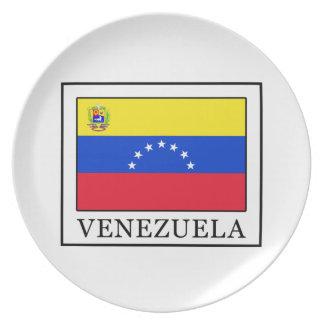 Venezuela Dinner Plate