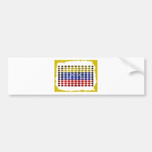 VENEZUELA DIRTY FLAG PRODUCTS BUMPER STICKER