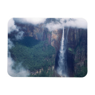 Venezuela, el Salto Ángel, parque nacional de Cana Imán Flexible