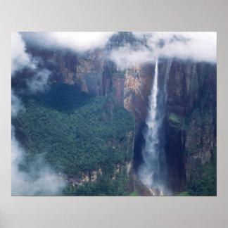 Venezuela, el Salto Ángel, parque nacional de Cana Impresiones