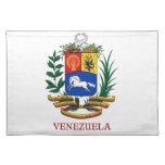 VENEZUELA - emblem/coat of arms/flag/symbol Cloth Placemat