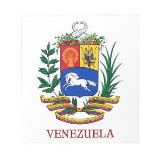 VENEZUELA - emblem coat of arms flag symbol Note Pad