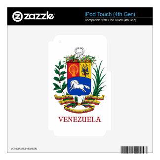 VENEZUELA - emblem/coat of arms/flag/symbol Skin For iPod Touch 4G