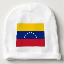 Venezuela flag baby beanie