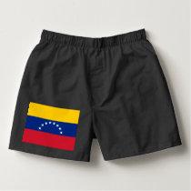 Venezuela flag boxers