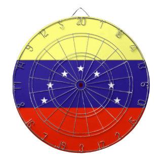 Venezuela Flag Dartboard With Darts
