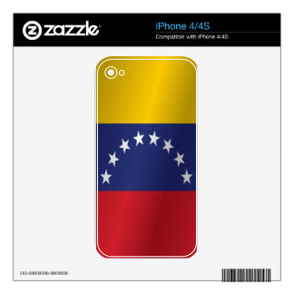 Venezuela flag decals for iPhone 4S