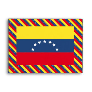 Venezuela Flag Envelope
