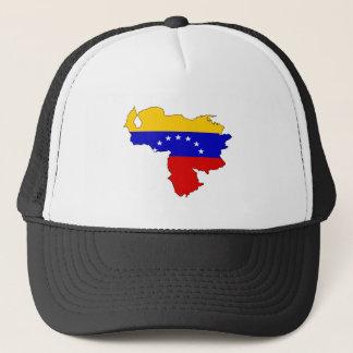 Venezuela Flag Map full size Trucker Hat