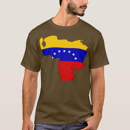 Venezuela flag map T-Shirt