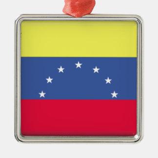 Venezuela Flag Metal Ornament