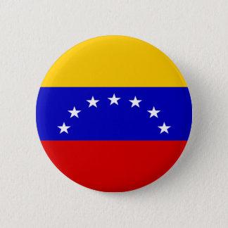 Venezuela Flag Pinback Button