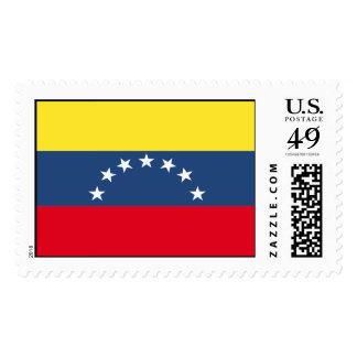 Venezuela Flag Postage Stamp