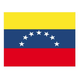 Venezuela Flag Post Card