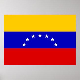 Venezuela Flag Poster