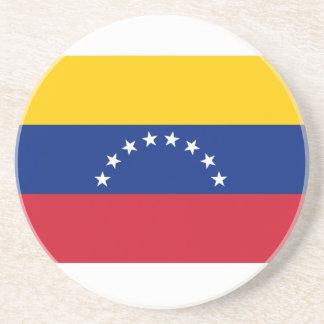 Venezuela Flag Sandstone Coaster
