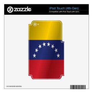 Venezuela flag skins for iPod touch 4G