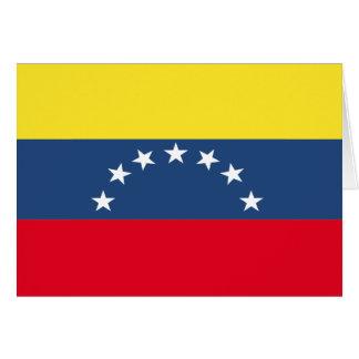 Venezuela Flag Stationery Note Card