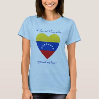 Venezuela Flag Sweetheart T-Shirt