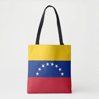 Venezuela Flag Tote Bag